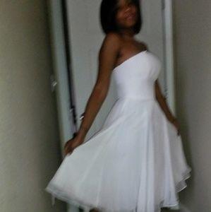 White Aline dress